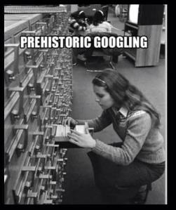 Prehistorical Googling
