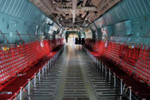 C-141 interior